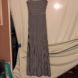 💋MONTEAU STRAPLESS MAXI DRESS